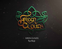Green Clouds Logo Design