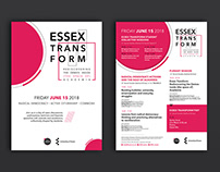 ESSEX TRANSFORM posters
