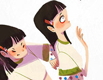 她 She// Story Illustrations
