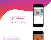 Instagram Case Study UX