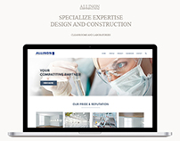 Allinon Advance Technology, Web Design