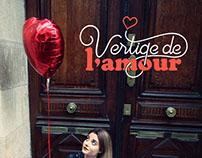 // Identité Visuelle Vertige de l'Amour //