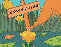 Downsizing Movie Still Illustration