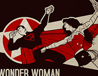 Wonder Woman vs. The Red Son