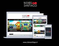 Sitio Web Nidos Santiago