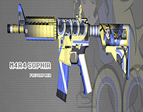CS:GO Skin M4A4   Sophia