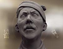 Soviet classics. Sculpt study.