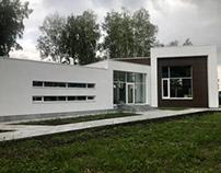 Функциональный современный дом с плоской крышей