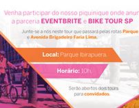 Folleto para Eventbrite Brasil