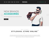 Mania - eCommerce Fashion Template