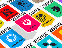 Krafton game union Brand eXperience Design renewal