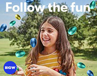BIGW Easter - HTML Banners
