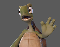 Real time Turtle character
