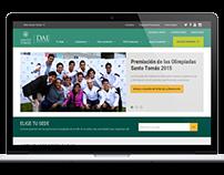 DAE Santo Tomás | Sitio web