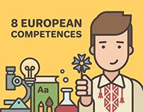 8 European competences