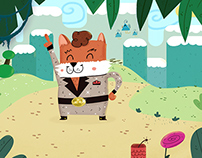 Art direction and illustrations for Storypanda