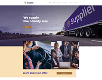 SUPPLIER - WordPress Website Template Design