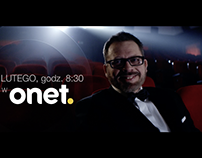 Onet.pl – OSKARS 2016. campaign 360, ATL, OOH, digital