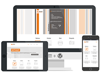 A4Media - agency responsive website [gif]