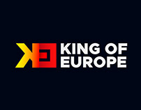 King of Europe - logo design