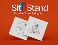 SitnStand- Full branding, UI/UX
