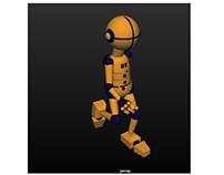 Animacja chodu 2 - playblast