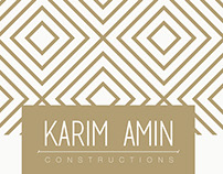 KARIM AMIN | CONSTRUCTIONS
