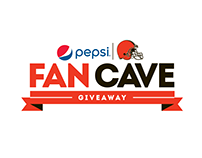 Pepsi x Cleveland Browns Fan Cave Giveaway