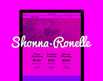 Shonna Ronelle Website Design
