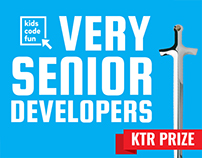 Campaign: Very Senior Developers (Kids Code Fun)