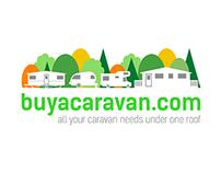 Brand Identity for buyacaravan.com logo
