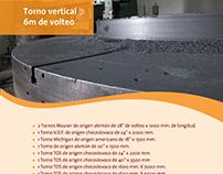 Catálogo de productos y maquinaria