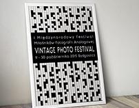 Plakat na konkurs Vintage Photo Festival. 2015 //