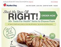 Taste For Health Email