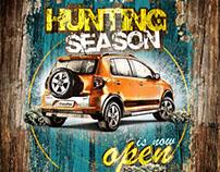 Crossfox Hunting Season VW