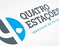 Redesign Logo Quatro Estações Instituto de Psicologia