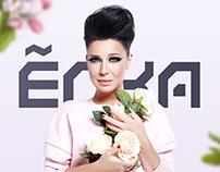 Landing page for singer Yolka