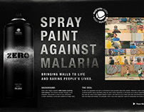 ZERO - Spray Paint Against Malaria