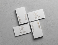 Logo & business card design 'Laszlo Feys'