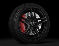 Mercedes SLS AMG Wheel