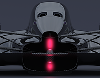 Return of the Turbine: closed cockpit race car concept