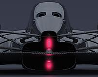 Return of the Turbine: closed cockpit race car concept