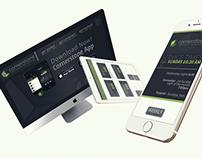 Cornerstone Desktop, Mobile & Tablet Designs