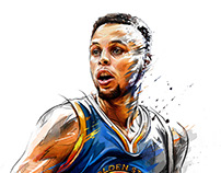 Stephen Curry\ Reverse Magazine