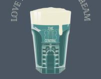 Drink Local - Illustration for pub