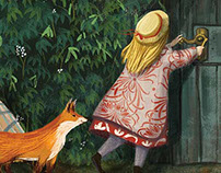 The Secret Garden book illustrations.
