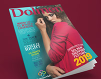 Magazine cover for Dolmen Mall