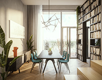 TM - Dining room proposal (day &night)