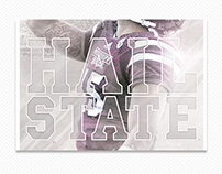 2015 Mississippi State Spring Football Posters