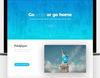 Piedpiper - HBO series design concept.